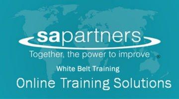 White Belt Online Training banner image