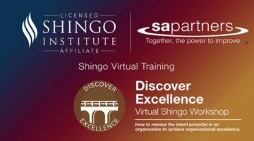 banner for shingo virtual training