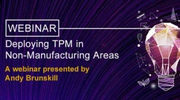 DeployingTPM in a non manufacturing area