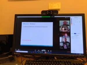 screen shot of laptop screen