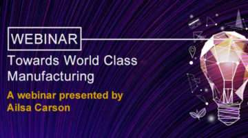 banner image for Towards World Class Manufacturing