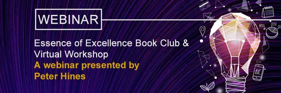 Essence of Excellence Workshop banner