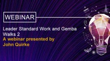 Leader Standard Work and Gemba Walks banner image